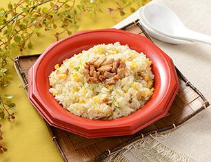 ネギと玉子の炒飯