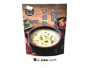 サラダチキンでつくる参鶏湯