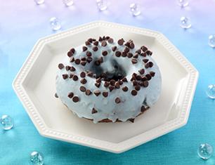 チョコミントドーナツ