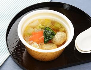 九州産いわしとあじのつみれスープ