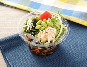 沖縄県産もずくのつるるんサラダ
