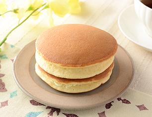 ふわふわホットケーキ メープル&発酵バター入りマーガリン 2個入