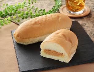 もっちコッペ(つぶつぶピーナッツ)