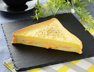 フレンチトーストハムチーズ