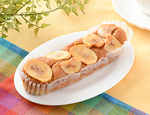 バナナのモッチケーキ