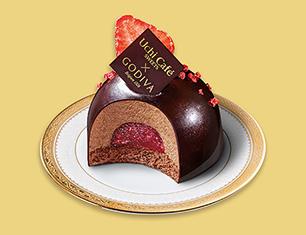 Uchi Café SWEETS×GODIVA ショコラドームストロベリー