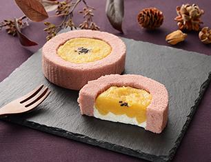 蜜芋ロールケーキ