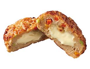 おでん チーズの野菜ハンバーグ