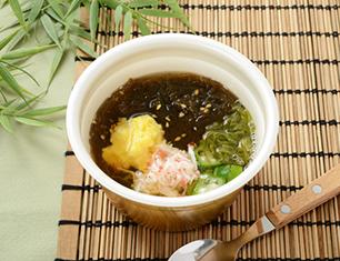 沖縄県産もずくのネバネバスープ