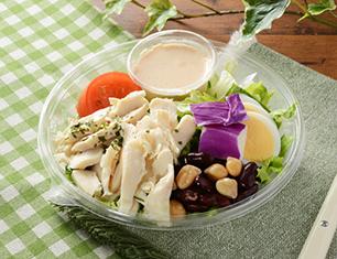 1食分のプロテインサラダ(コブドレッシング)