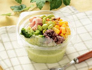 NL 食べる冷製スープ(枝豆と五穀)