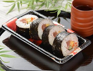 6種具材の海鮮巻寿司