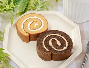 NL ブランのロールケーキ バニラ&ココア
