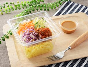 NL 担々麺サラダ(こんにゃく麺使用)