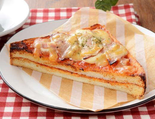 ピザ トースト カロリー