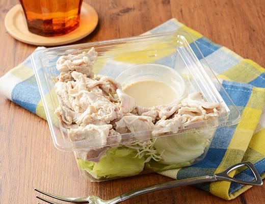 タンパク質をとろう 豚しゃぶのサラダ