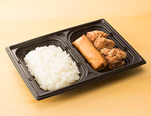 FF 春巻&鶏から弁当