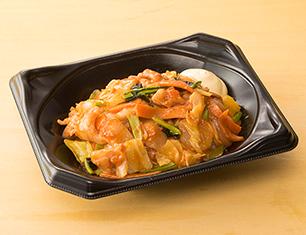 肉野菜丼(ピリ辛みそ)
