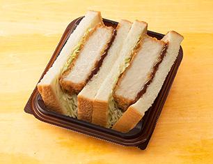三元豚の厚切りロースカツサンド