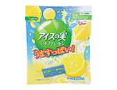 江崎グリコ アイスの実 うますっぱい!シチリアレモン 7ml×12個 【ローソン限定商品】