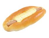 あらびきソーセージのふわふわパン