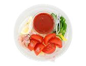高リコピントマトの冷製生パスタ