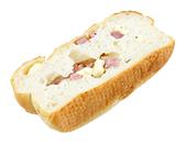 ベーコンとチーズのフランスパン
