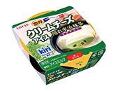 ロッテアイス 濃厚クリームチーズアイス 隠れ宇治抹茶 120ml 【ローソン限定商品】