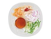 中華くらげと蒸し鶏の豆腐サラダ