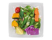 ごろっと緑黄色野菜のサラダ