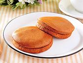 ブランのパンケーキ2個(4枚) ~アガベシロップ入り~