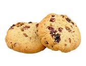 いちじくとクルミのクッキー 2枚