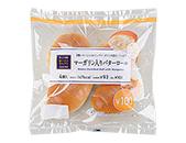 マーガリン入りバターロール 4個入(発酵バター使用)
