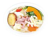 チーズソースで食べる温野菜サラダ