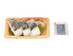 炙り〆さば寿司 3カン