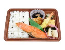 新潟コシヒカリ 熟成紅鮭と海老天幕の内