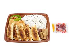 餃子定食弁当