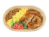 鶏照焼と2色そぼろ弁当(もち米入味付けご飯)