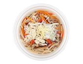 鶏肉と生姜のもち麦スープ