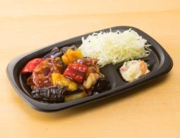 鶏と野菜の甘酢がけ(おかず)