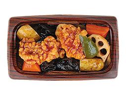鶏と野菜の黒酢仕立て