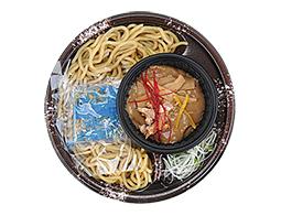 魚介豚骨スープのつけ麺(ひやあつ)