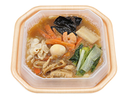 10品目の中華丼(国産野菜)