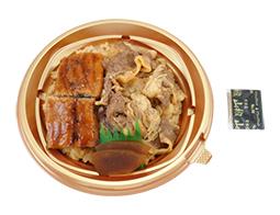 九州産うなぎ&炭火焼牛カルビ丼