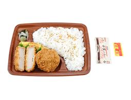 新潟コシヒカリ ロース&ヒレかつ弁当