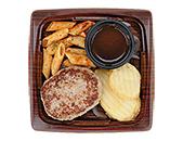 鉄板焼ハンバーグ(とろ~りチーズin)