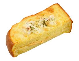 厚切りフレンチトースト クラムチャウダー