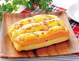 四角いハムチーズパン