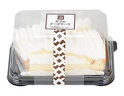 ダブルチーズケーキ 2個入