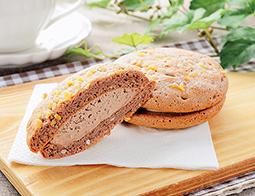 ベルギーチョコのふんわりサンド